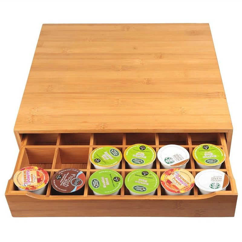 hot selling coffee cup holder tray with drawer coffee cup holder for high quality